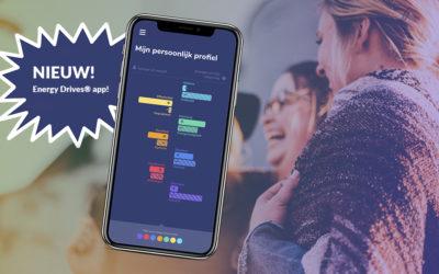 Nieuwe Energy Drives® app helpt je met concrete tips om je samenwerking en communicatie te verbeteren
